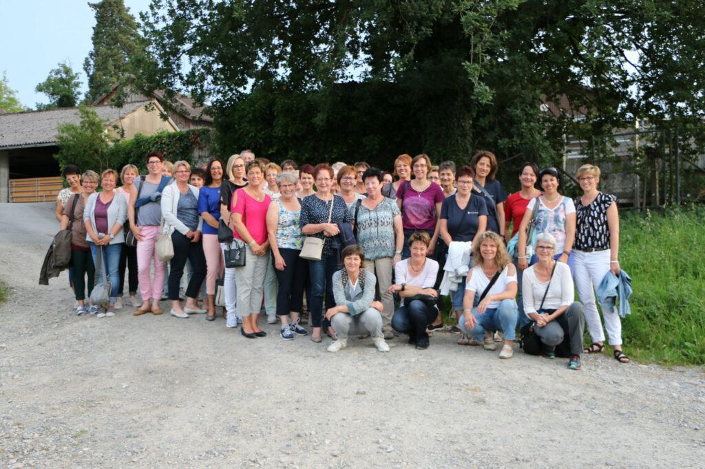 Gruppenfoto Frauenverein Sarmenstorf